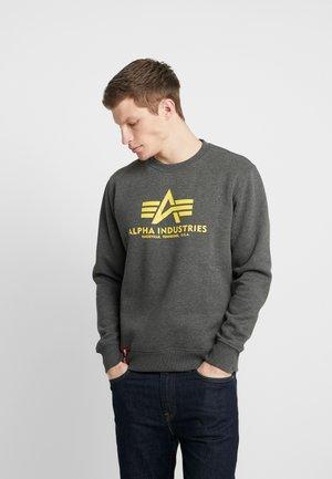 BASIC - Sweatshirt - charcoal heather
