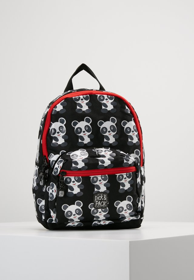 PANDA MINI BACKPACK - Rucksack - black