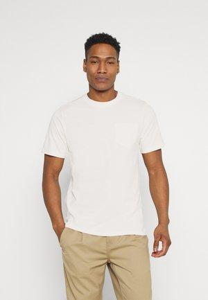 CLARKE TEE UNISEX - Basic T-shirt - pristine