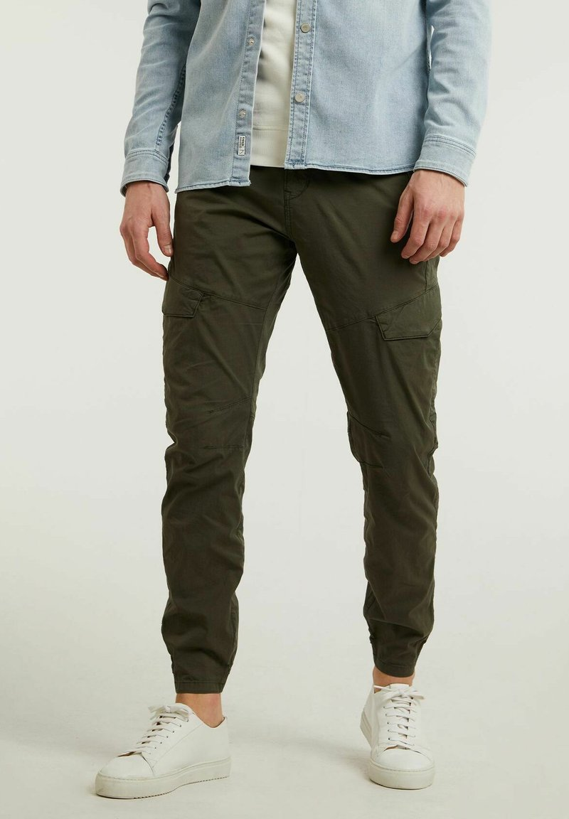 CHASIN' - Cargo trousers - green