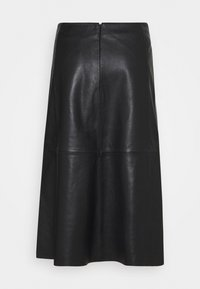 2nd Day - MARVIN - Leather skirt - black - 1