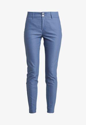 BLAKE NIGHT PANT SUSTAINABLE - Trousers - indigo blue