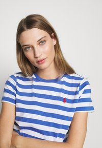 Polo Ralph Lauren - T-shirt imprimé - white/indigo sky - 3
