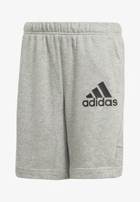 adidas Performance - BADGE OF SPORT SHORTS - Sports shorts - grey - 0
