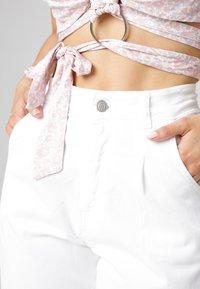 MiaZAYA - Relaxed fit jeans - weiß - 3