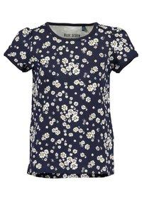 Blue Seven - DAISY FLOWERS - Print T-shirt -  korn  rosa nacht aop - 2