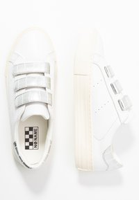 No Name - ARCADE STRAPS - Trainers - white/silver - 3