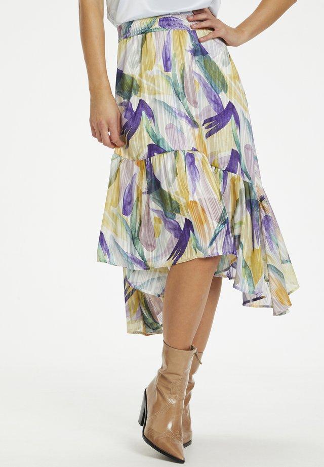 LEMONKB  - A-snit nederdel/ A-formede nederdele - mauve shadows