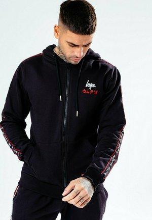 LEGO NINJAGO JAY TAPING - Zip-up hoodie - black