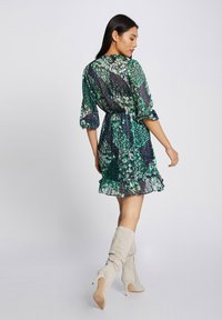 Morgan - WITH ABSTRACT PRINT - Day dress - dark blue - 2