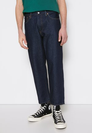 STAY LOOSE TAPER CROP - Relaxed fit jeans - row rinse