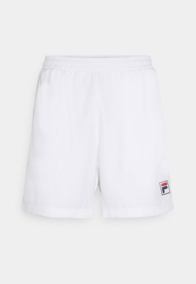 SHORTS LEON - Korte broeken - white