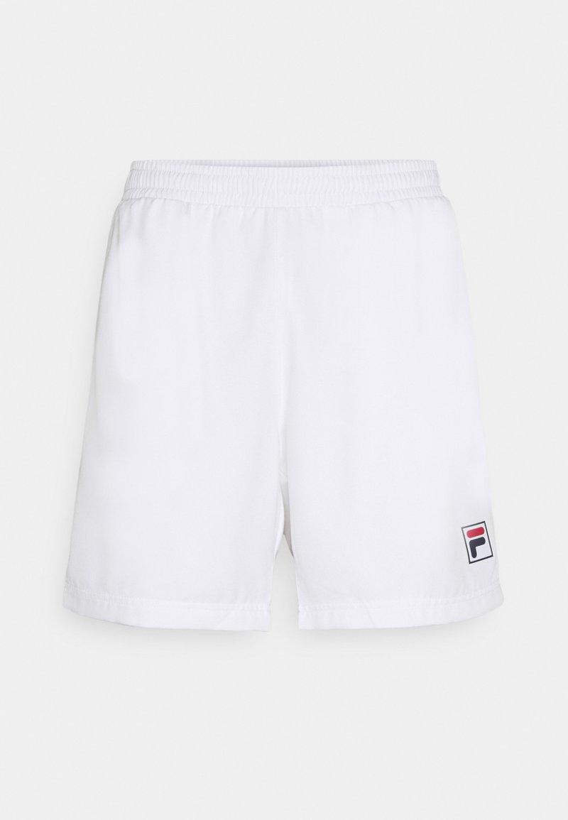 Fila - SHORTS LEON - Sportovní kraťasy - white
