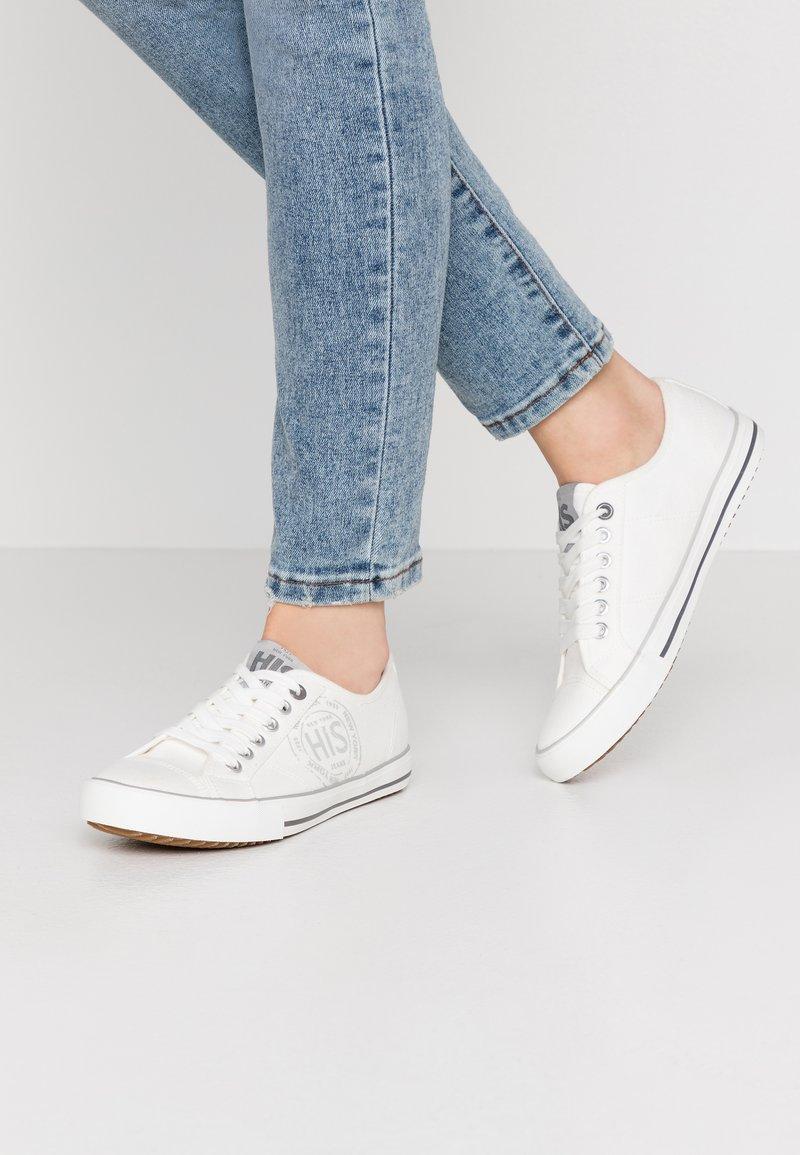 H.I.S - Sneakersy niskie - white
