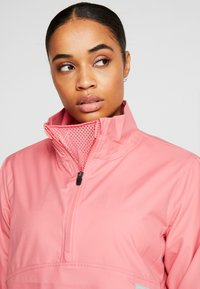 Puma Golf - HALF ZIP - Veste coupe-vent - rapture rose