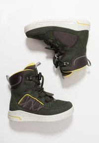 ECCO - URBAN SNOWBOARDER - Winter boots - deep forest/canary - 0