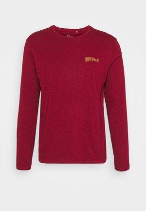 Camiseta de manga larga - dark red
