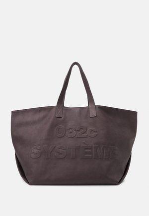 SYSTEM HEAT SENSITIVE TOTE UNISEX - Velká kabelka - black to white