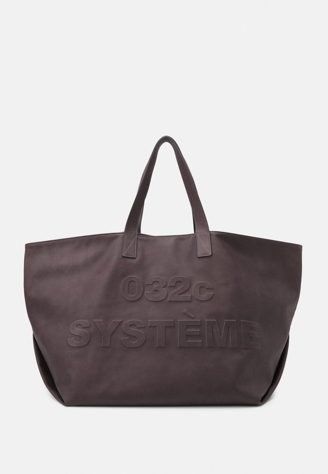 SYSTEM HEAT SENSITIVE TOTE UNISEX - Cabas - black to white