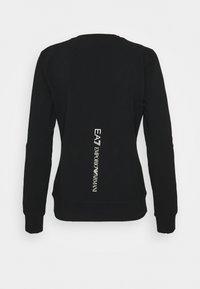 EA7 Emporio Armani - Sweatshirt - black/light gold - 1