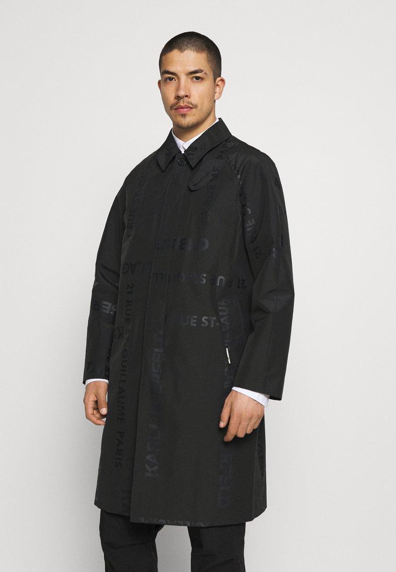 KARL LAGERFELD - UNISEX - Waterproof jacket - black