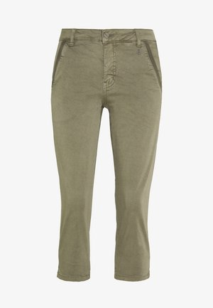 DRJOUNTAIN  - Trousers - dusty olive