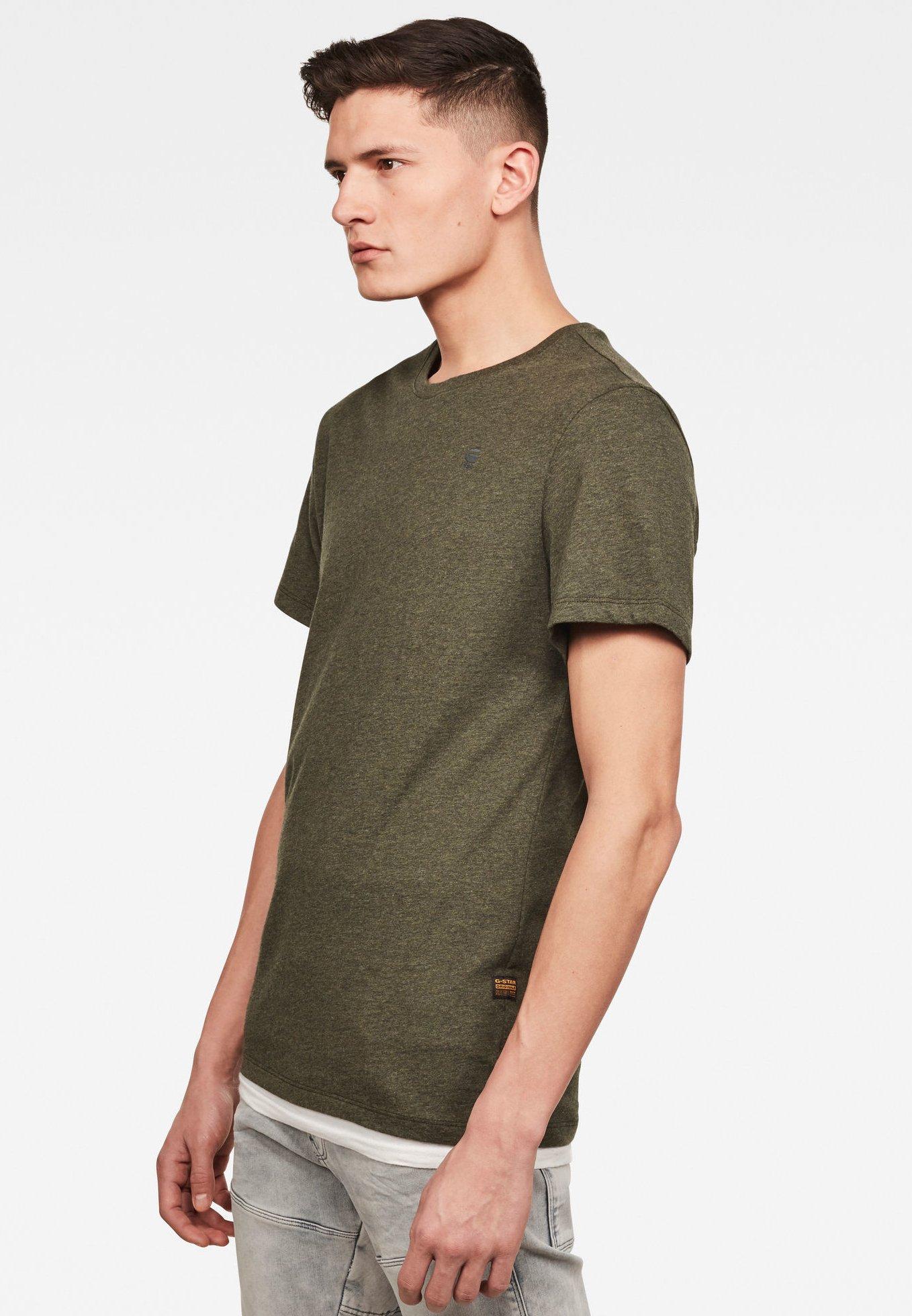 G-Star BASE-S R T S\S - Basic T-shirt - green jMmOx