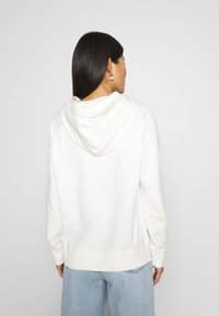 Marc O'Polo - RAGLAN SLEEVE HOODED - Hoodie - off white - 2
