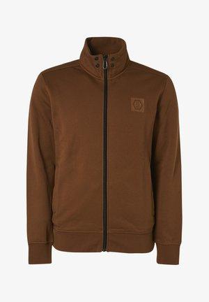 Fleece jacket - 140 - camel