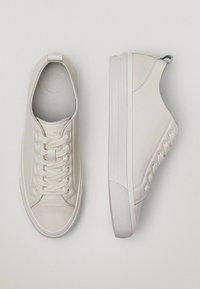 Massimo Dutti - Sneakersy niskie - beige - 3