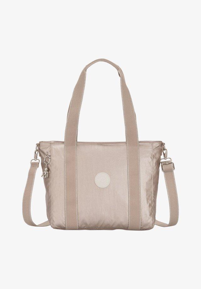 ASSENI S - Shopping bag - metallic glow