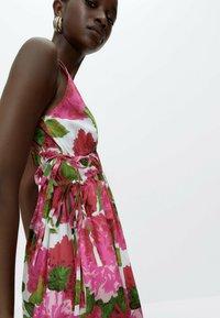 Uterqüe - Day dress - pink - 4