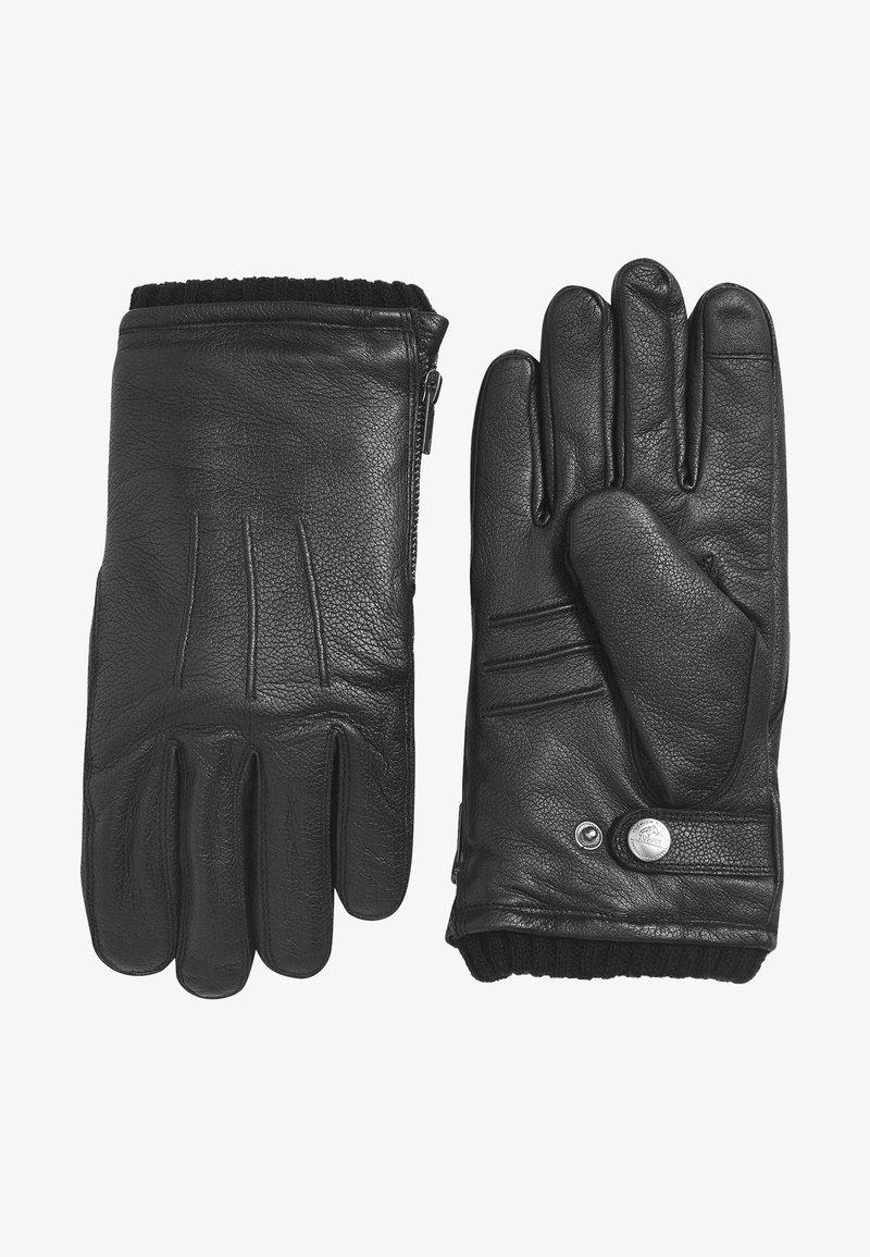 Next - Gloves - mottled black