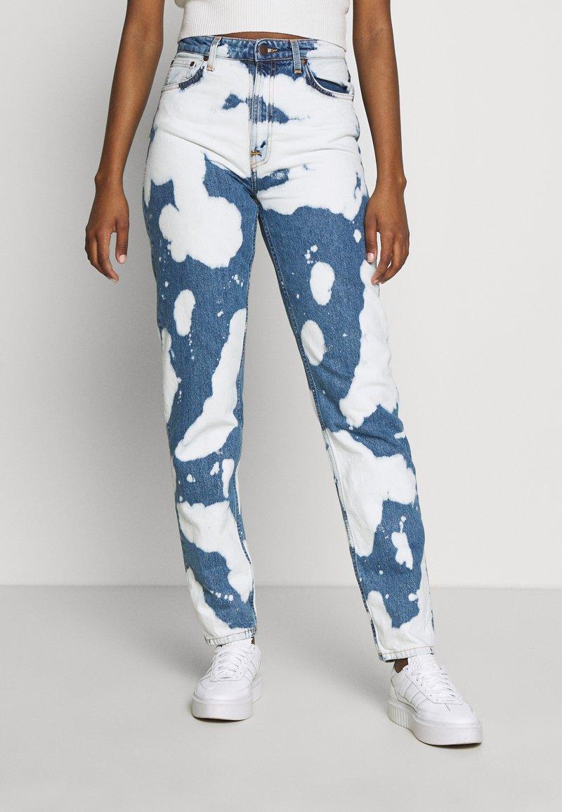 Nudie Jeans - BREEZY BRITT - Straight leg -farkut - tie dye