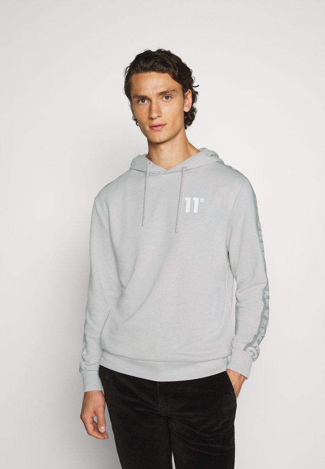 RADAR HOODIE - Bluza z kapturem - vapour grey