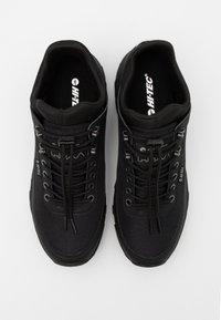 Hi-Tec - ADVENTURE MOC I+ - Hiking shoes - black - 3