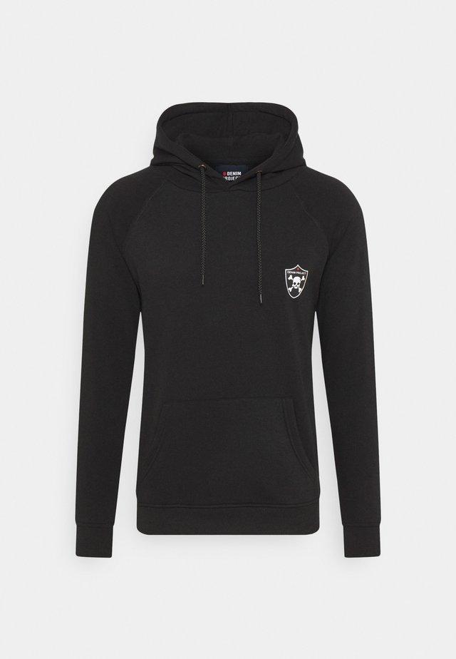 SKULL HOODIE - Sweatshirt - black