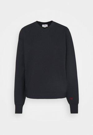 V NECK - Sweatshirt - dark navy