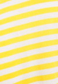 Anna Field MAMA - Jerseykjole - white/yellow - 2