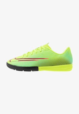 MERCURIAL JR VAPOR 13 ACADEMY IC UNISEX - Indoor football boots - lemon/black/aurora green
