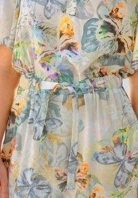 Alba Moda - Day dress - creme-weiß,lindgrün,grau - 4