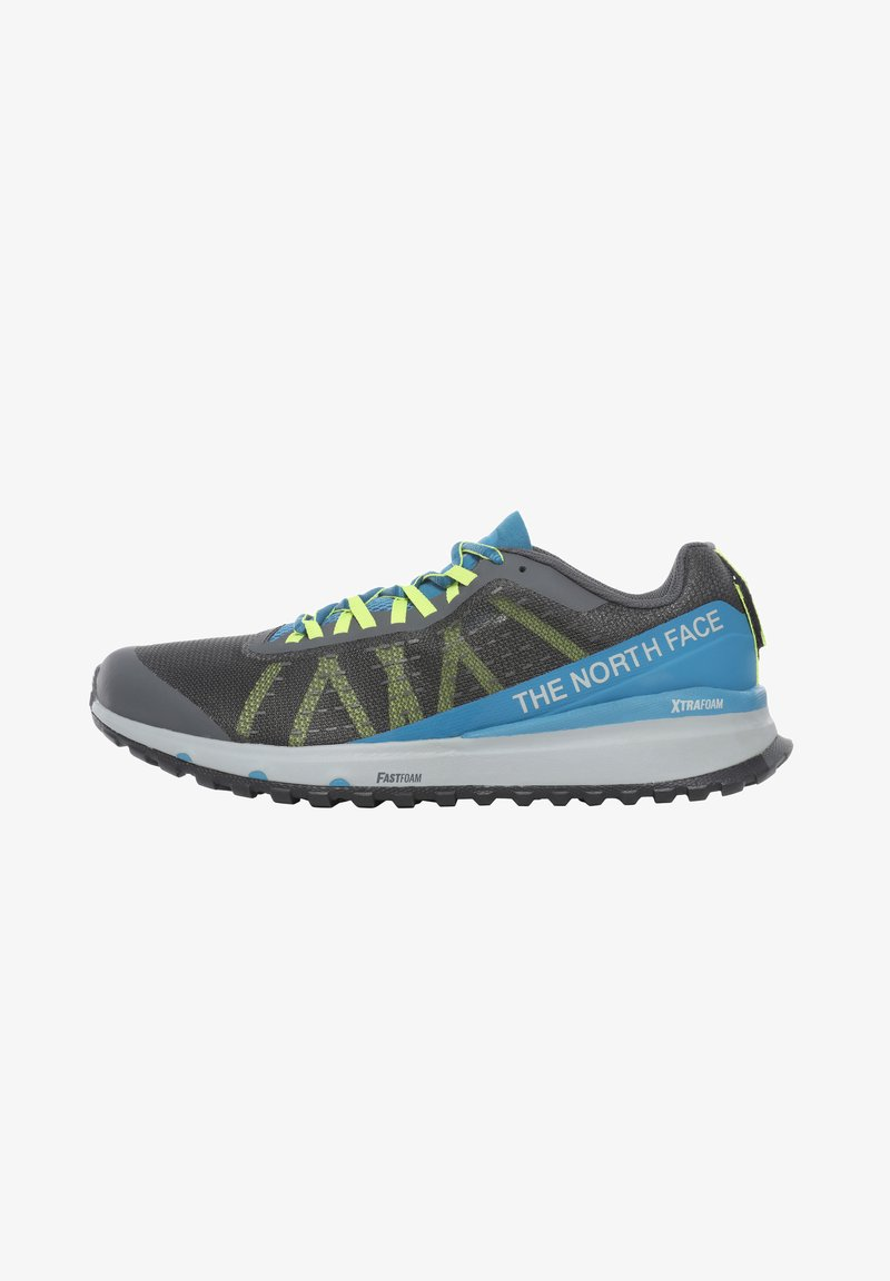 The North Face - M ULTRA SWIFT - Trail running shoes - vanadis gry/blue sapphire