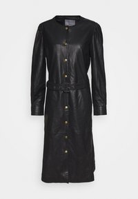 Culture - CUALINA DRESS - Shirt dress - black - 0