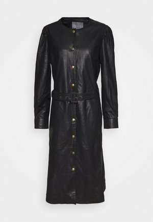 CUALINA DRESS - Shirt dress - black