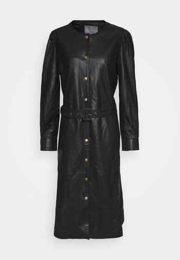 CUALINA DRESS - Shirt dress - black
