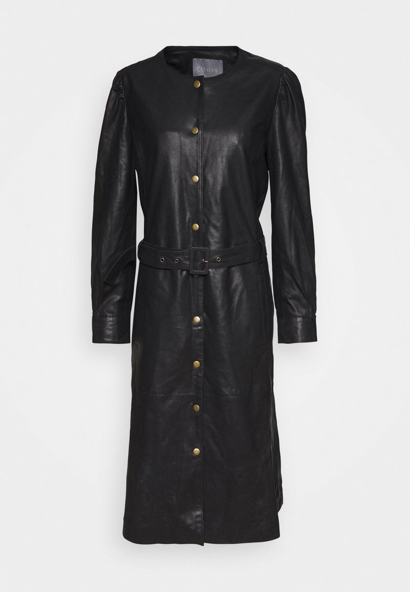 Culture - CUALINA DRESS - Shirt dress - black