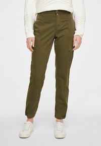 comma casual identity - Trousers - khaki - 0