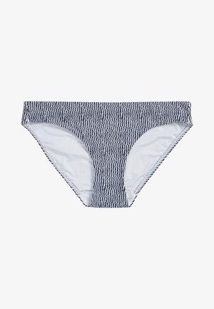 Bikini bottoms - mottled royal blue