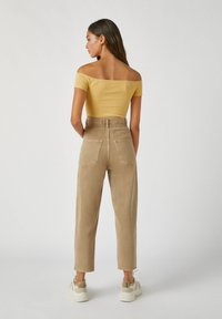 PULL&BEAR - Top - light yellow - 2