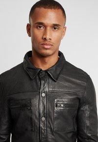 Gipsy - G2BAINIGO SF LABONV - Leather jacket - black - 3